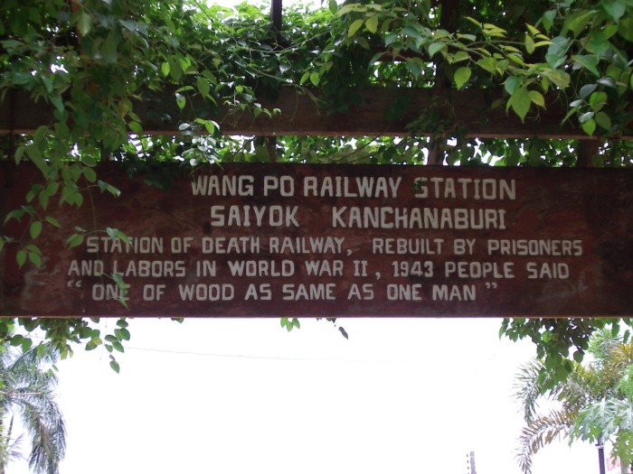 Wang Po railway station, Thailand