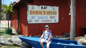 Dominica bread and boat