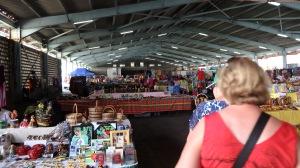 Dominica market stalls