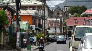 Dominica streetscape