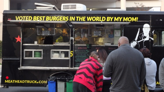 Food truck, 'Off the Grid', East Bay California