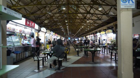 Hawkers market, Singapore