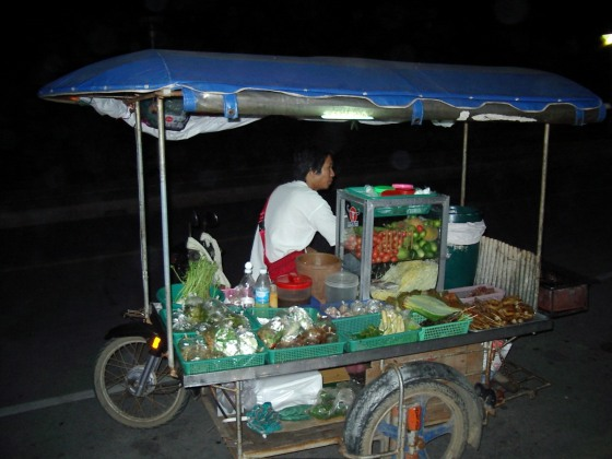 Street food vendor, Karon Beach, Phuket