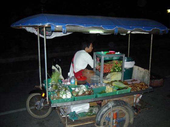 Street food vendor, Karon Beach, Phuket