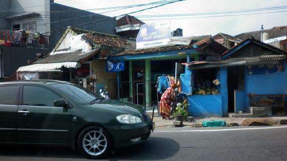 A locals' lunch spot outside Nusa Dua, Bali