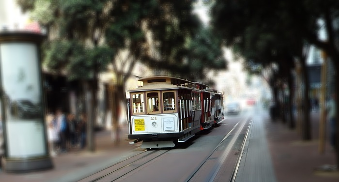 Cable Car - Market and Powell