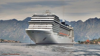 MSC Musica in Montenegro - see facebook.com/cairnscommunications for details