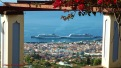 Norwegian Spirit and MSC Musica at Funchal - see facebook.com/cairnscommunications for details