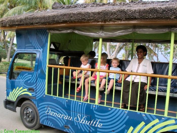 Fiji's Denarau Island Bula Bus