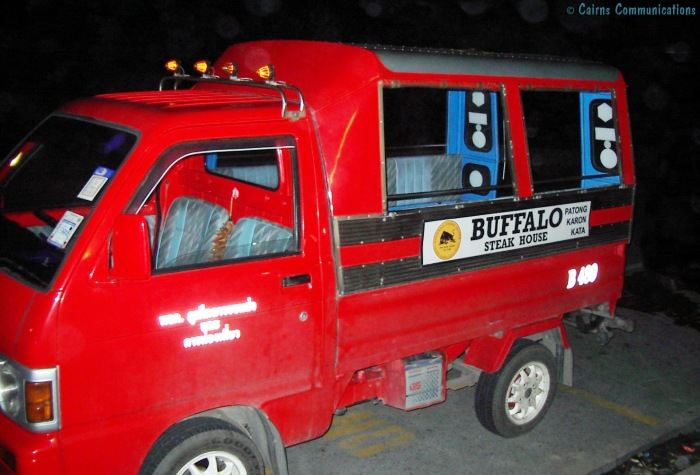 Karon Beach Tuk Tuk (mini bus)