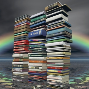 digital visualization of books