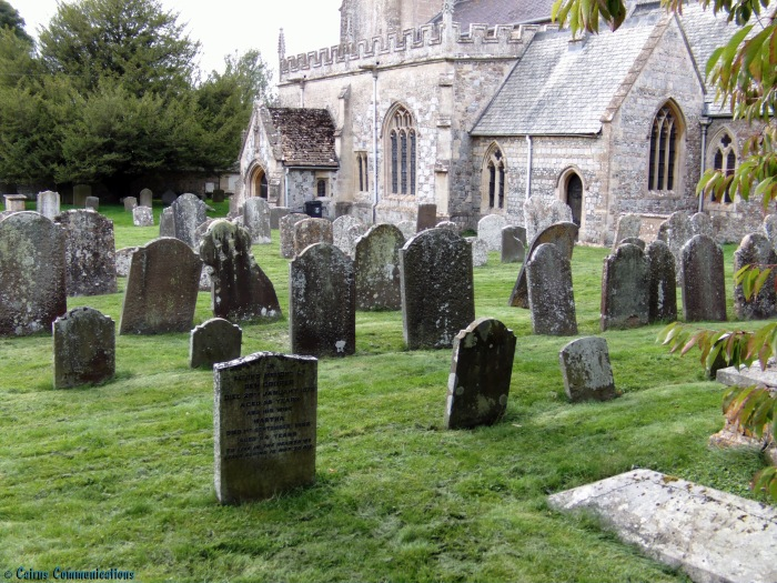 Saint James, Avebury graveyard