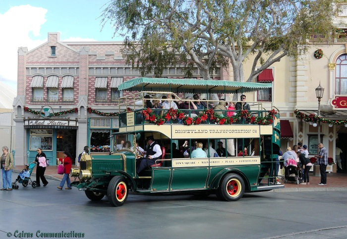 Old time Disneyland Transportation