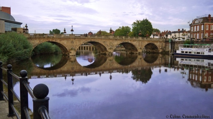 Welsh Bridge at Shrewsbury
