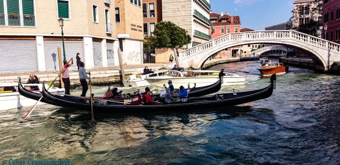 Venice Canal Traffic Jam