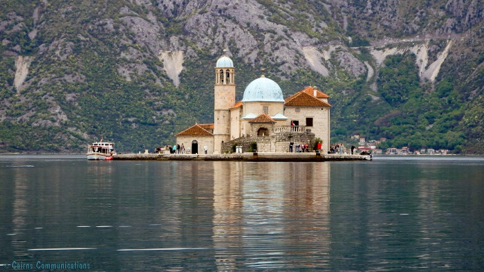 Our Lady Of The Rock exterior - Perast