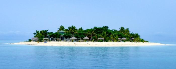 Tivua Island off Fiji
