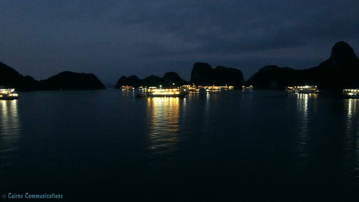 6 Lights of the Junks in Halong Bay