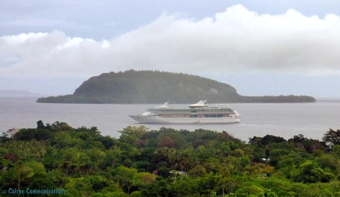 champagne bay ship
