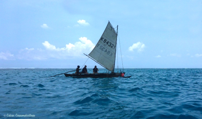 mystery island sailboat