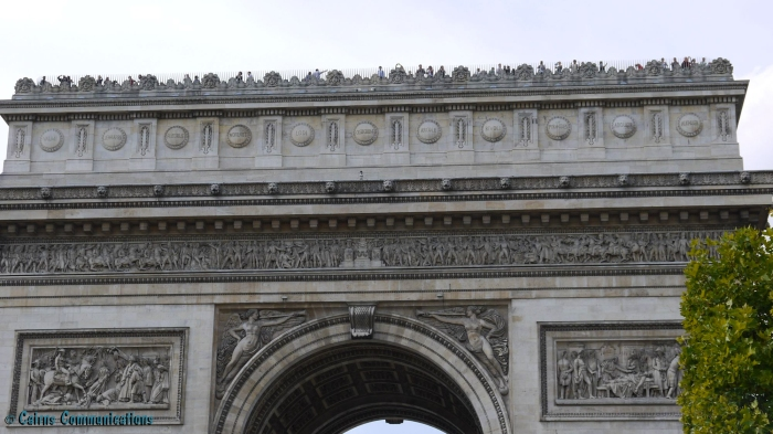 Arc de Triomphe detail