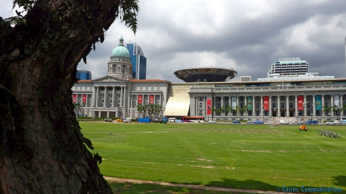 Singapore Art Gallery and Supreme Court
