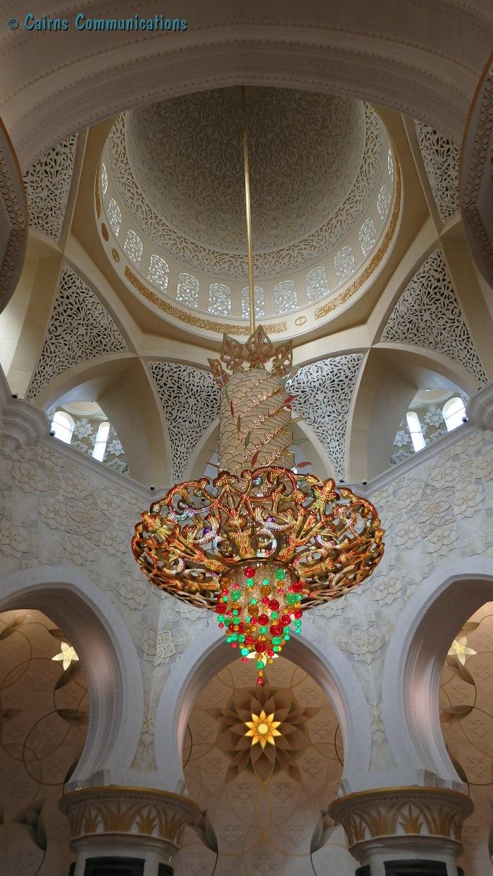 Zayed Mosque Chandelier, Abu Dhabi