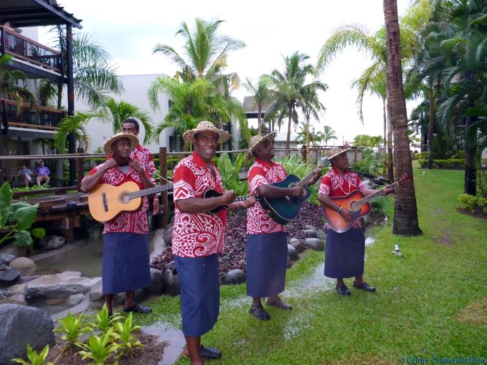 Fiji guitar serenade