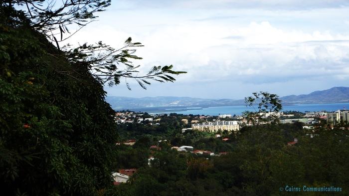Martinique mountain view