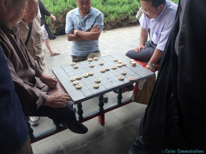 Qiangqi in the Temple of Heaven
