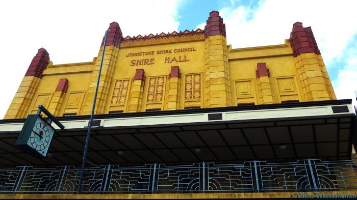 Johnstone Shire Hall exterior