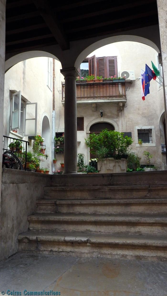 Capodistria Courtyard