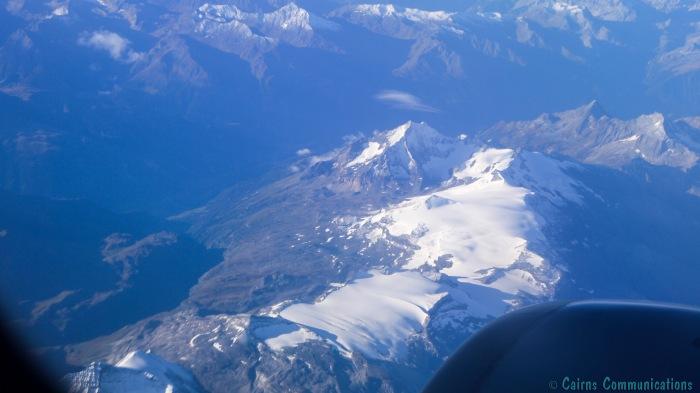 Alps from Alitalia