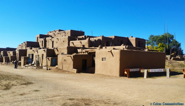 Adobe Pueblo multi-family home