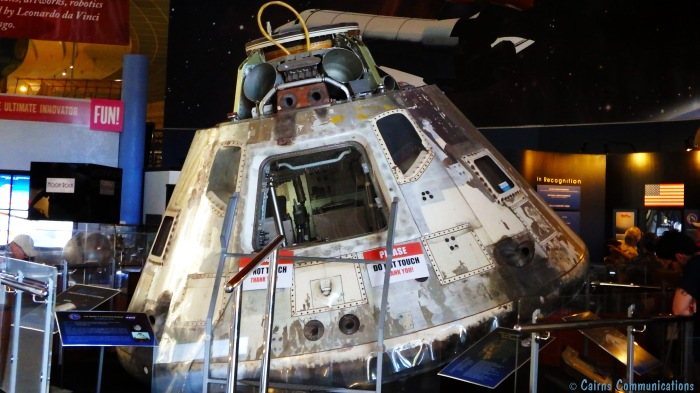 Apollo 9 Command Module, SD Air and Space Museum