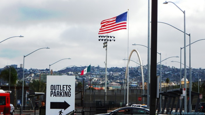 US Mexico border Tijuana - San Ysidro