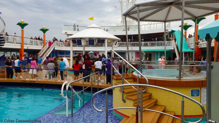 Norwegian Jewel Sail Away