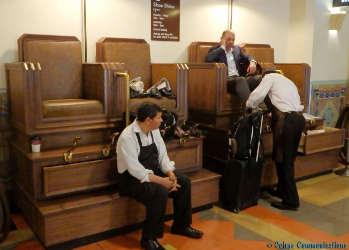 Union Station Shoe Shine