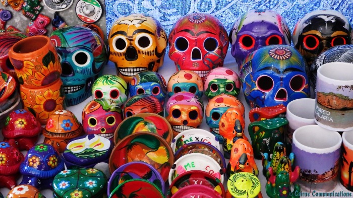 Day of the Dead pottery
