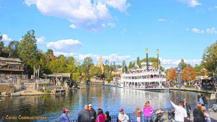 Disneyland Paddle Steamer