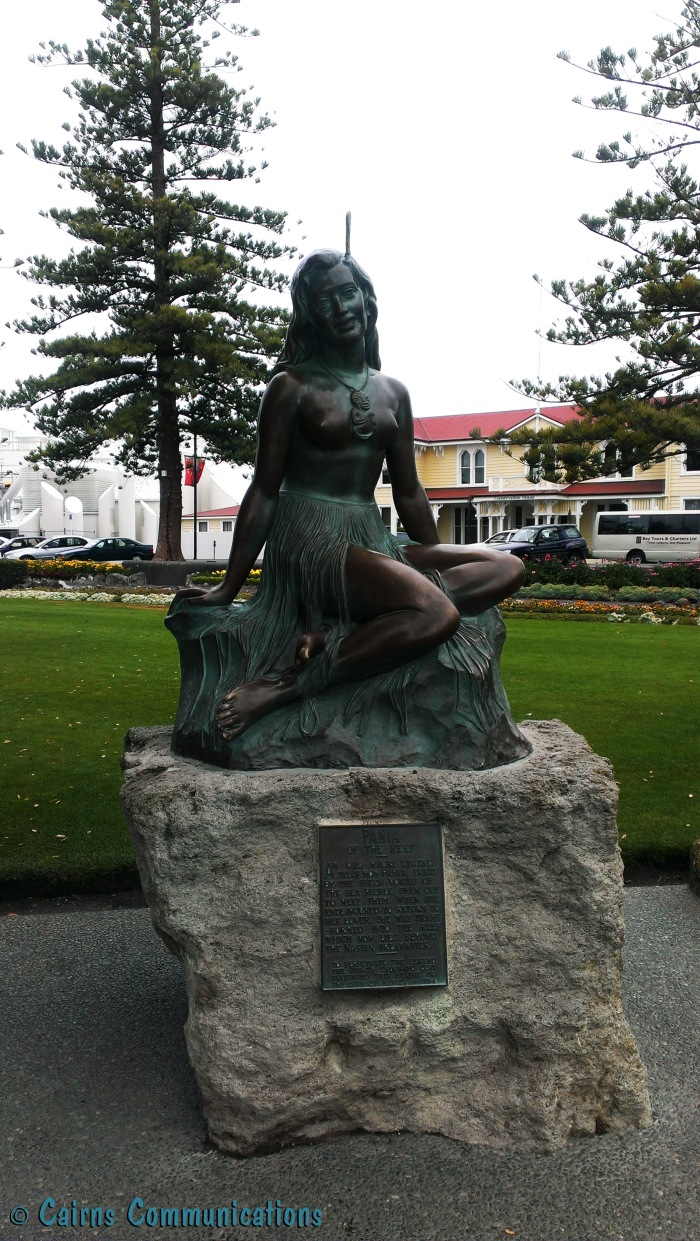 Pania statue, Napier