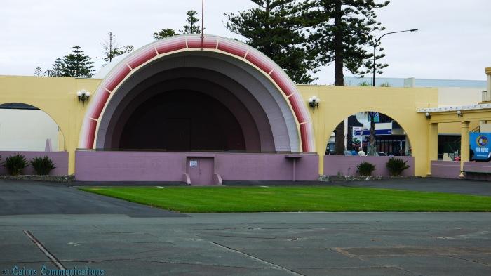 Napier shorefront sound shell