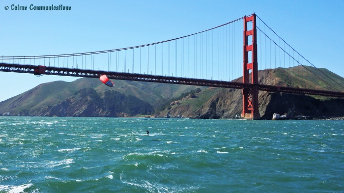 San Francisco Kite Surfer