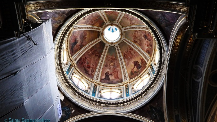 Cupola, St Francis of Assisi Church, Valletta