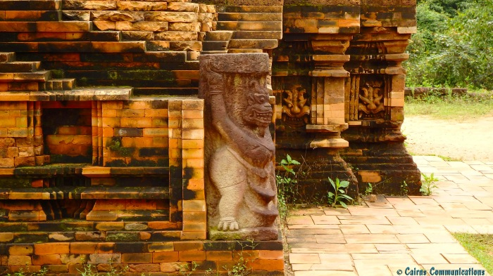 Champa temple detail