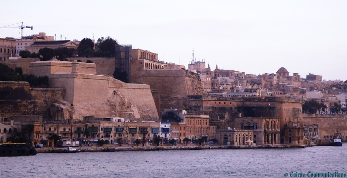 Valletta city walls