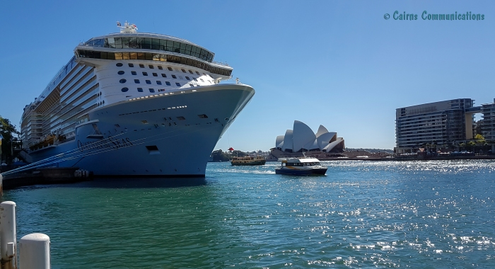Ovation in Sydney Harbour